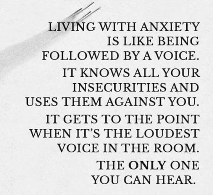 Living with anxiety