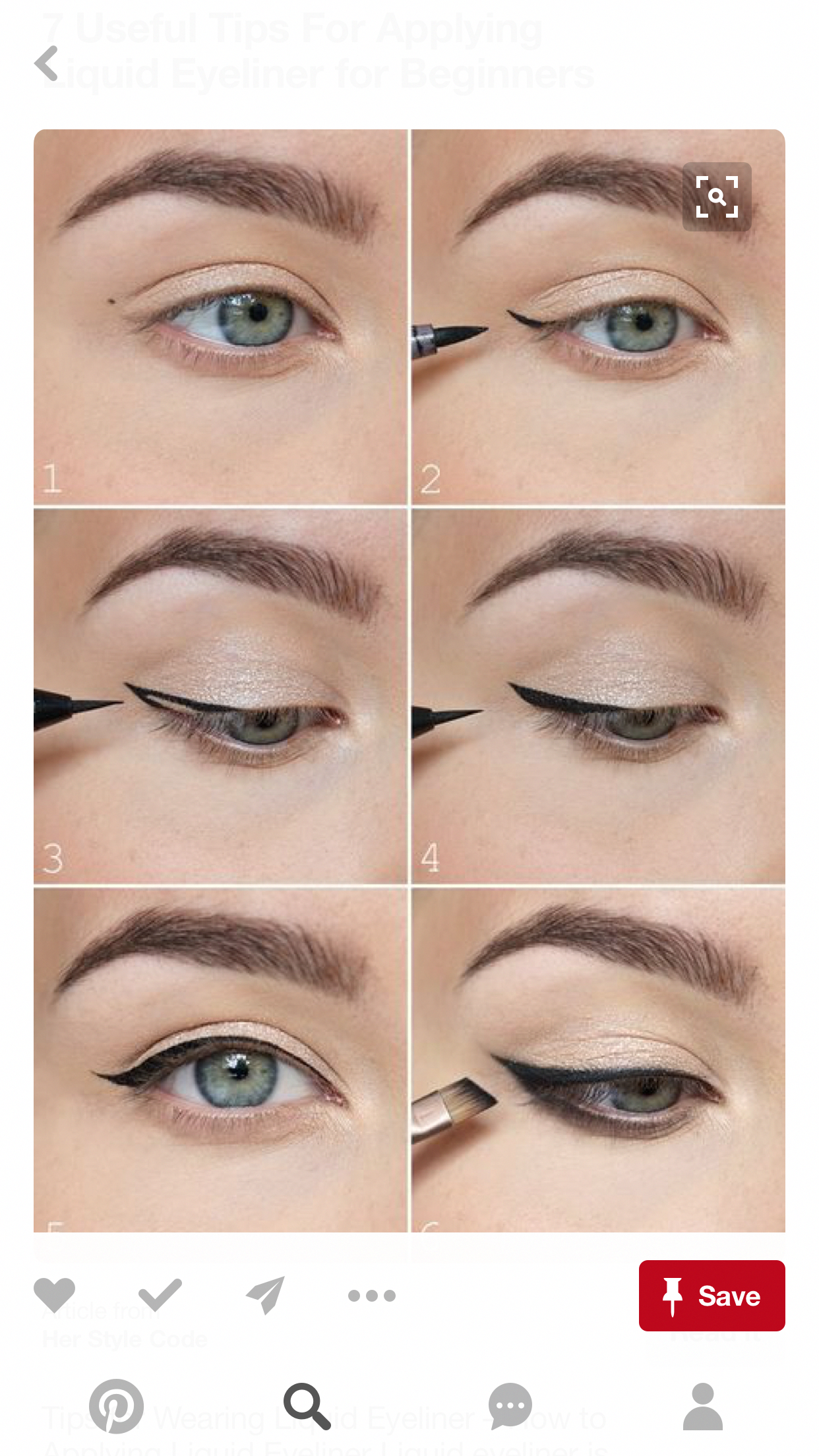 Discover these black eye makeup Image 3253