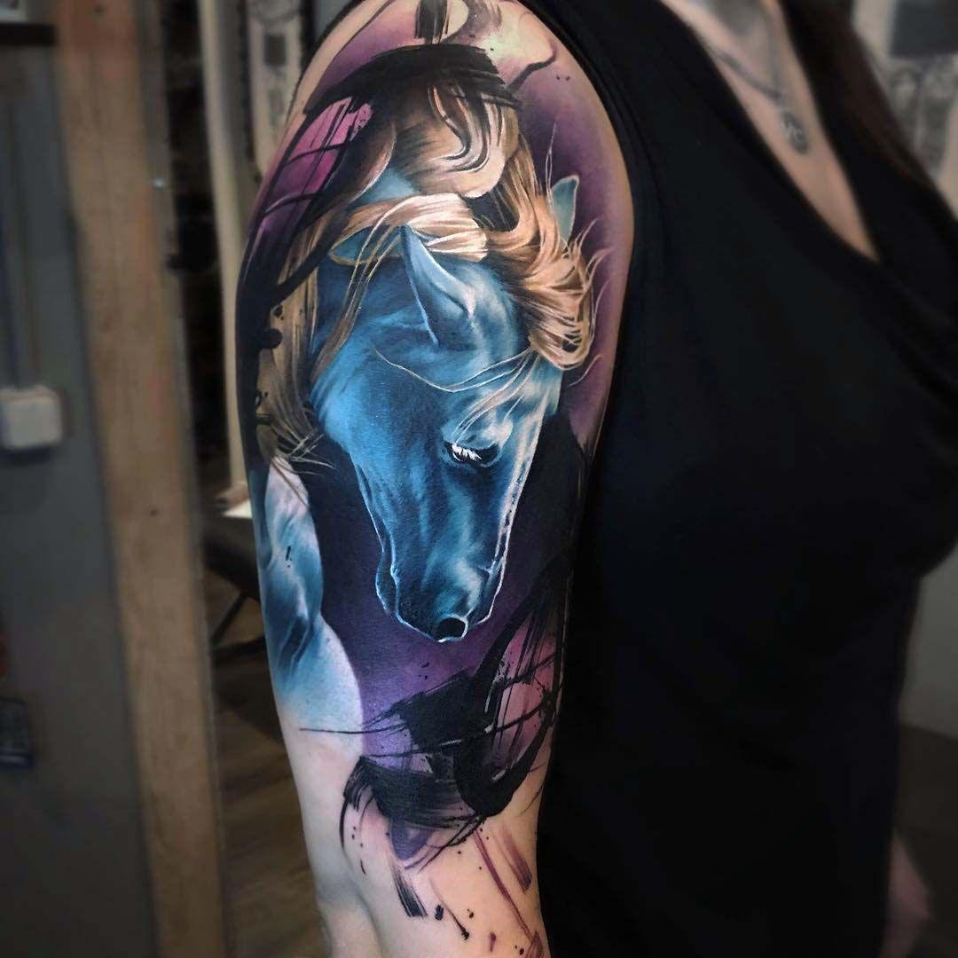 Shoulder tattoo horse ink pinterest tattoo horse shoulder