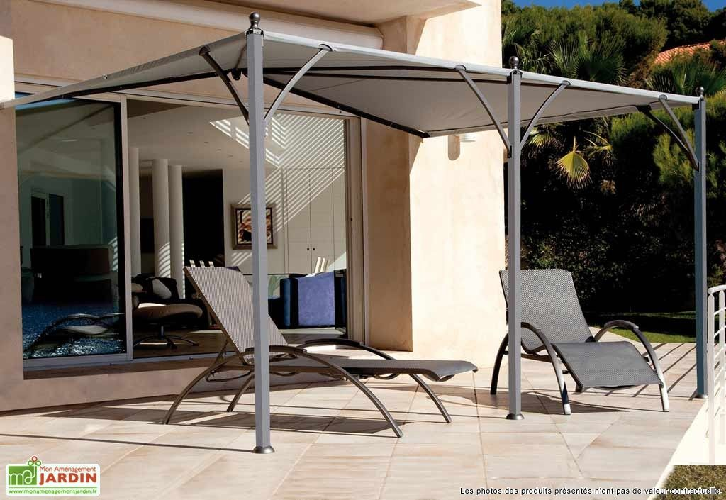 tonnelle adoss e neptune 4x3 m toile pergolas. Black Bedroom Furniture Sets. Home Design Ideas
