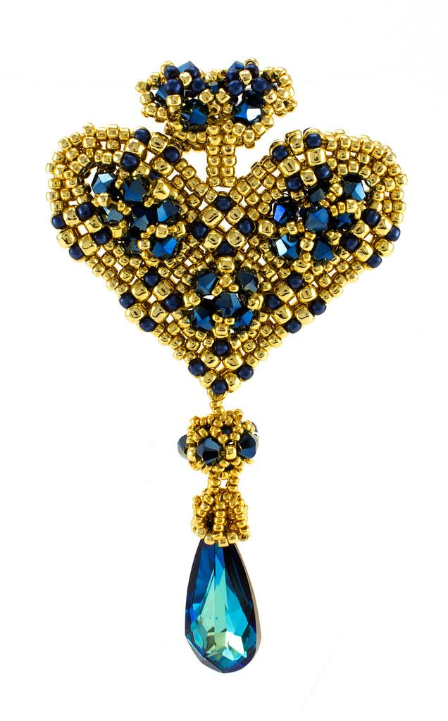Kings Heart Pendant Kit by Edgar Lopez