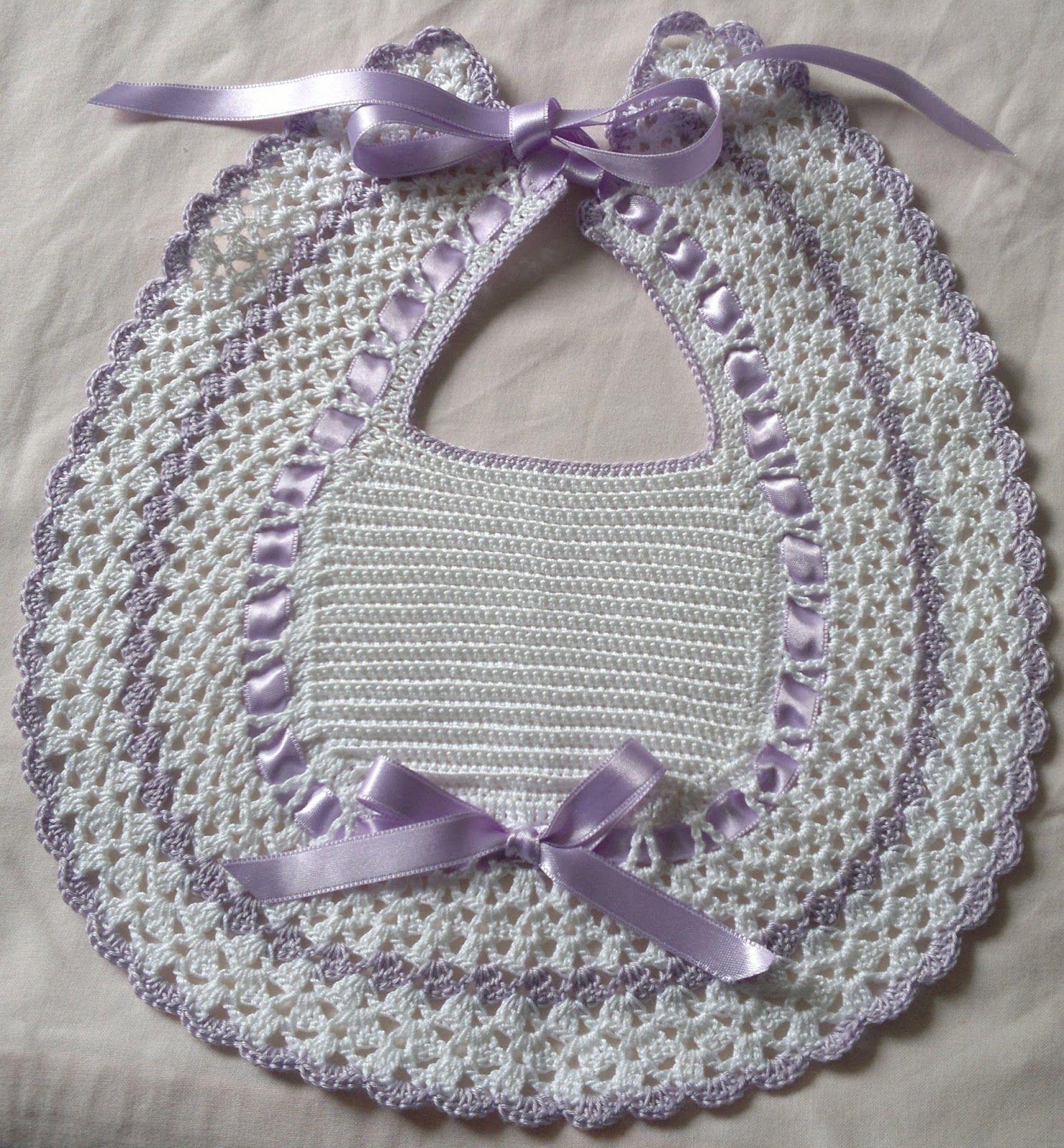 Creativa Io Bavette E Scarpine Neonato Bavaglini Crochet Baby