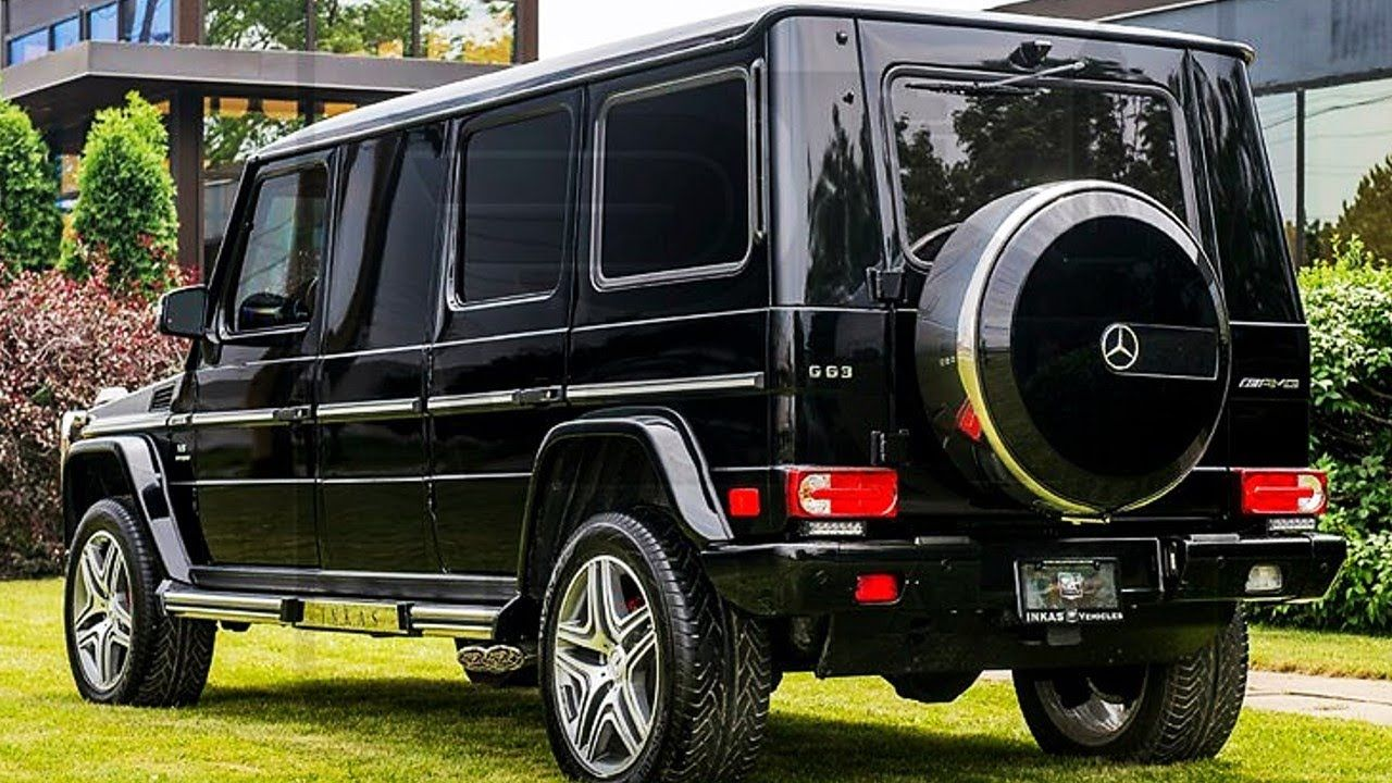 Inkas 1million Armored Mercedes Benz G63 Amg Limousine Cars