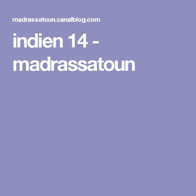 indien 14 - madrassatoun