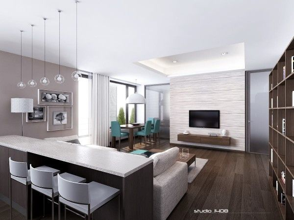 Apartment Living For The Modern Minimalist Apartment Interior