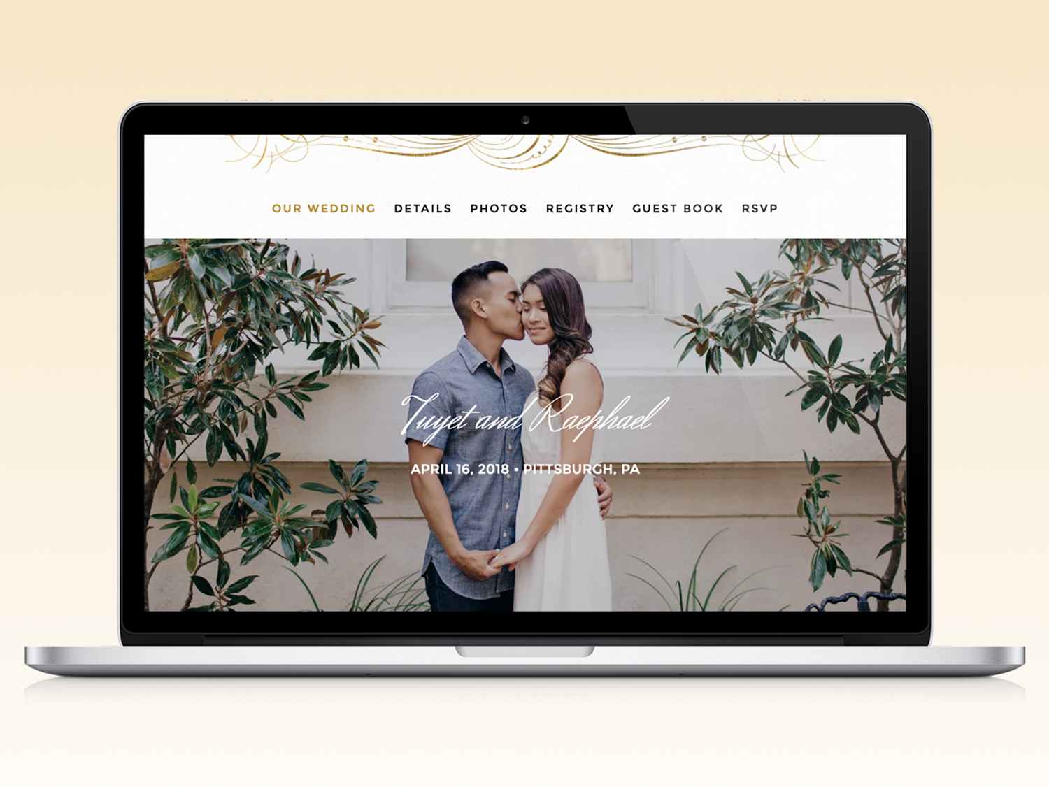 The 8 Dos and Don'ts of Wedding Websites Wedding website
