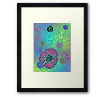 Rainbow Flowers Iphone Case Cover Flower Power Art Rainbow