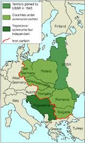 The Iron Curtain Map Google Search Germany Poland East