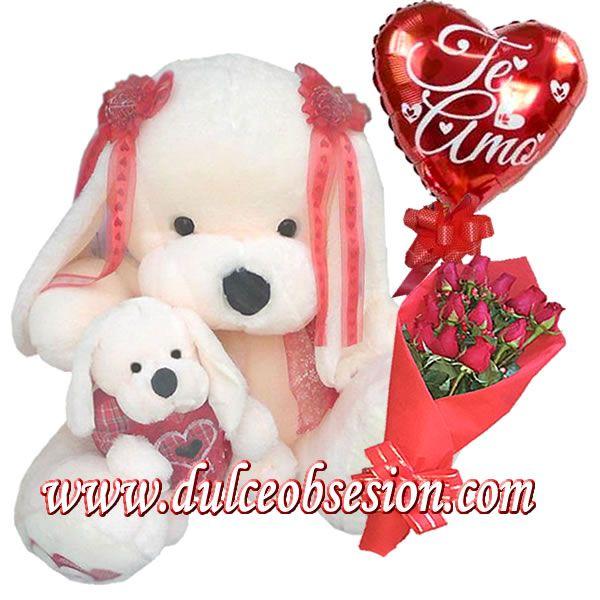 Regalos Que Enamoran Regalos Por San Valentín Peluches Grandes Y Peluches Gigantes Globos Rosas Chocolat Regalos Para Enamorados Peluches Grandes Peluches