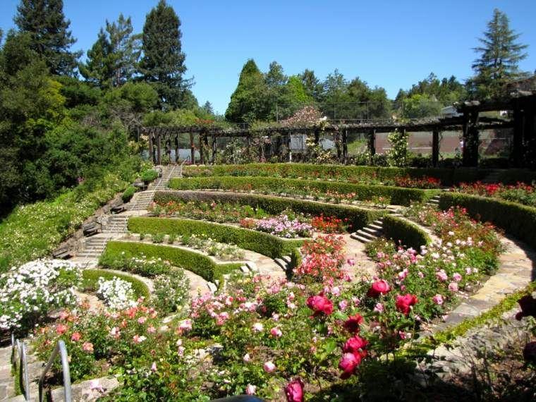 Jardin en pente 33 id es d 39 am nagement v g tal gardens - Amenagement jardin en pente ...