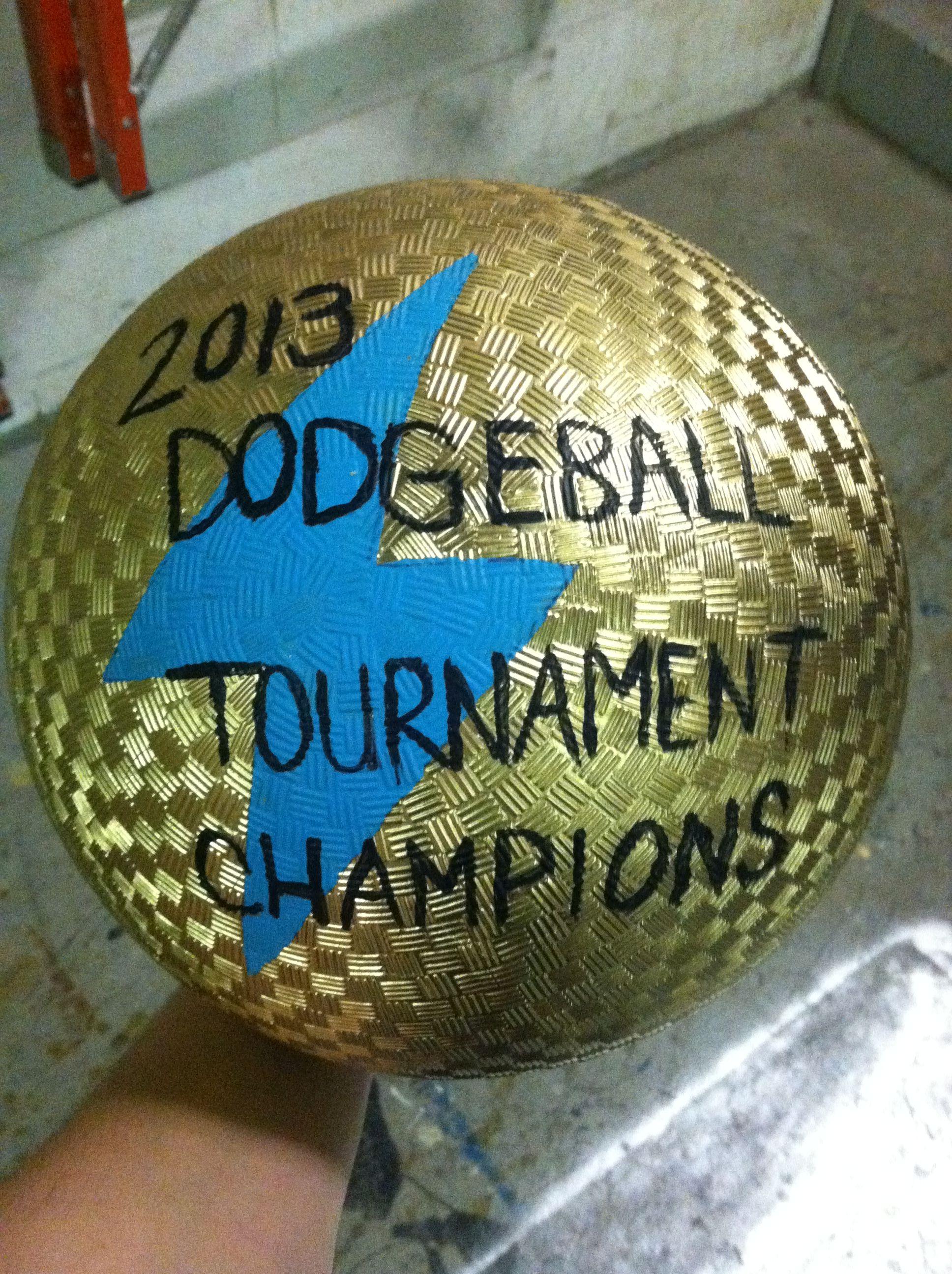 Fuse dodgeball trophy stuff we build pinterest to
