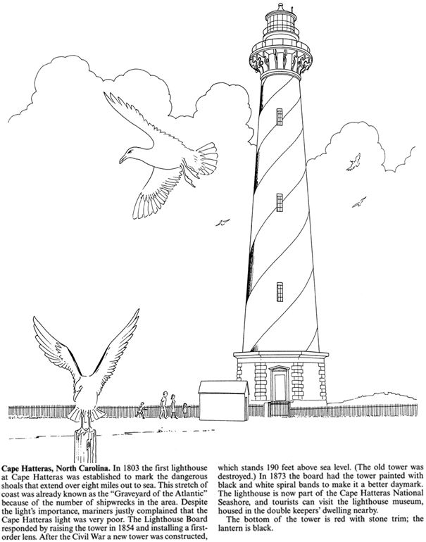 Welcome to Dover Publications | lighthouses | Pinterest | Plantillas ...