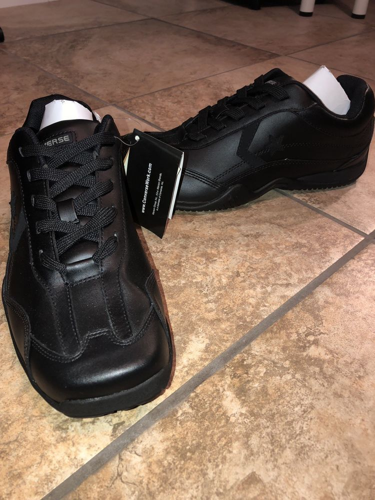 Mens Converse Size 12 Slip Resistant Non-marking Black Work Shoes NWT   fashion  clothing  shoes  accessories  mensshoes  casualshoes (ebay link) 20a5e61a2
