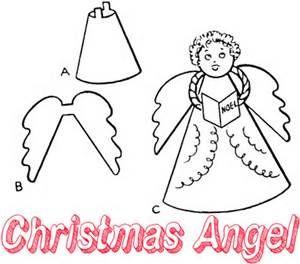 styrofoam angel craft - Bing Images