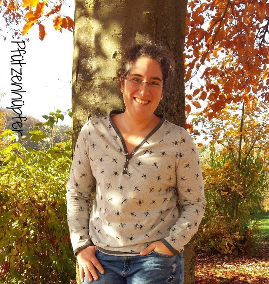 Schnittmuster / Ebook lillesol women No.14 Knopfshirt / Nähen Jersey ...