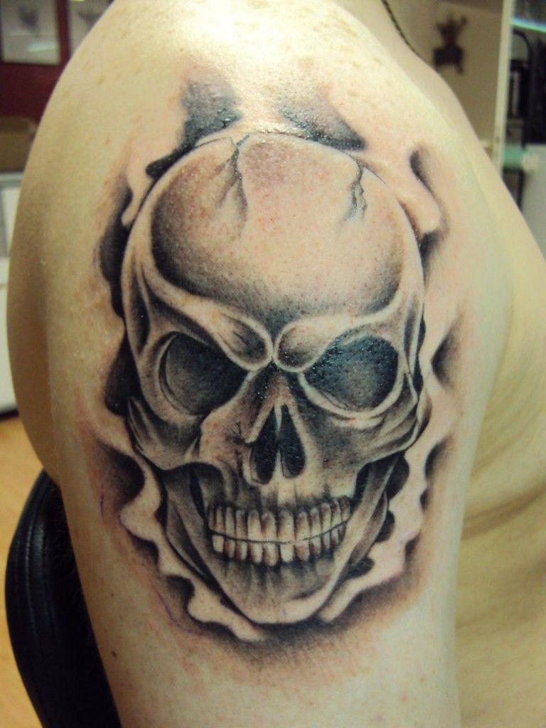 Best skull tattoo for men tattoo ideas pinterest for Mens tattoos pinterest