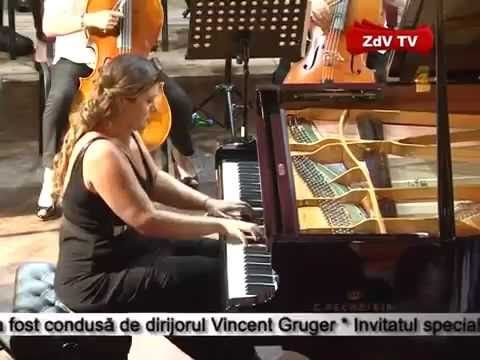 Excerpt of Variations on Lie Ciocarlie by Guy Bacos from concert with pi...