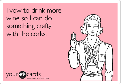 Finally! A legit reason to drink!  I love you Pinterest!
