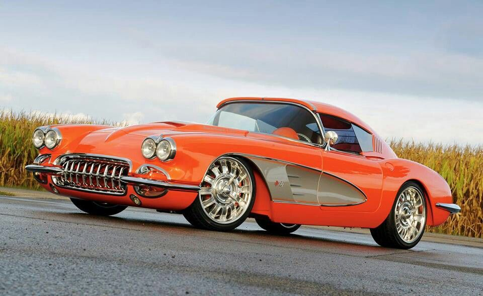 59 Chevy corvette convertible