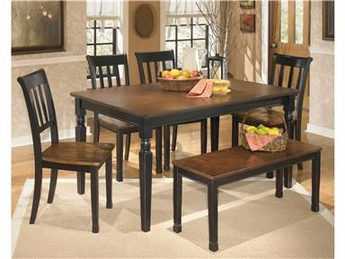 Exceptionnel Get Your Owingsville Table, 4 Side Chairs U0026 Bench At CasaBella Furniture, Corona  CA Furniture Store.