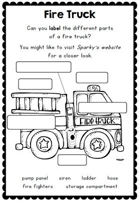 fire safety week with sparky the fire dog worksheets for grades 1 2 school pinterest. Black Bedroom Furniture Sets. Home Design Ideas