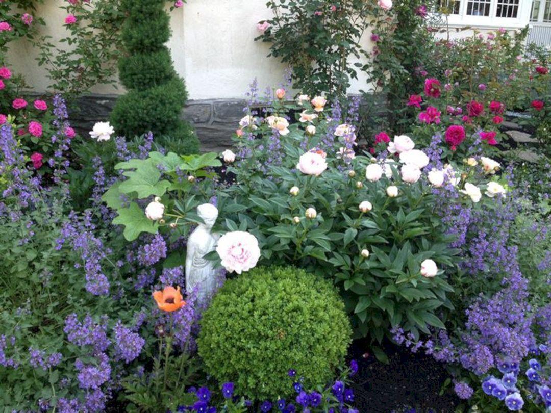 Roses And Peony Garden Rose Garden Design Peonies Garden Rose Garden Landscape