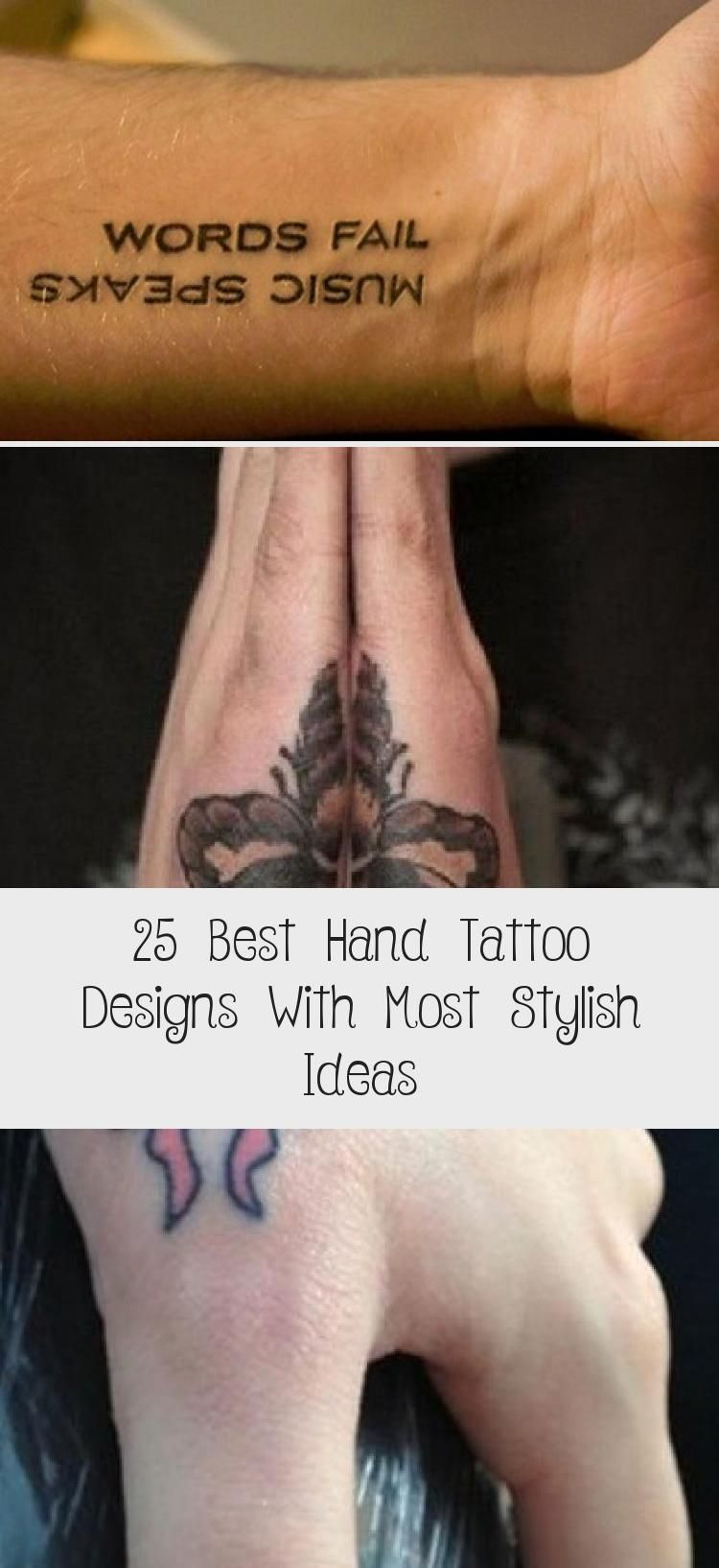 25 Best Hand Tattoo Designs With Most Stylish Ideas Hand