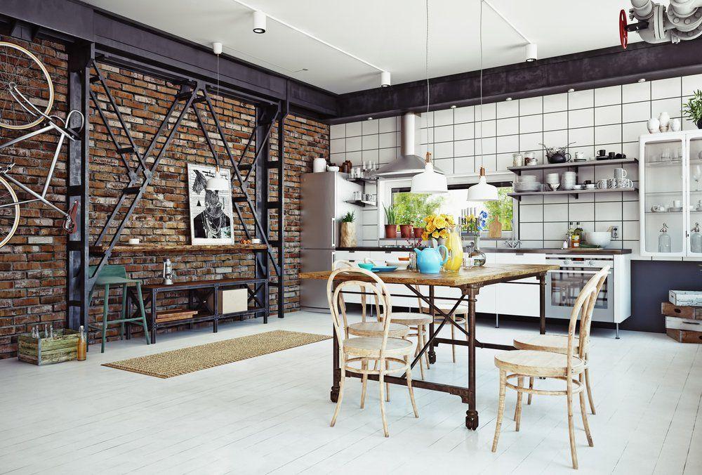 Cozinha Estilo Industrial O Guia Para Voce Ter Uma Em Casa Design De Sala De Estar Estilo Industrial Cozinha Grande