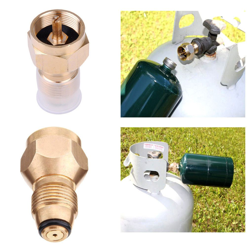 7.04 1X Bbq Grill Saver Small 1Lb Propane Tank Gas