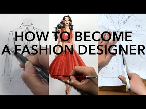 13 How To Become A Fashion Designer Youtube Become A Fashion Designer