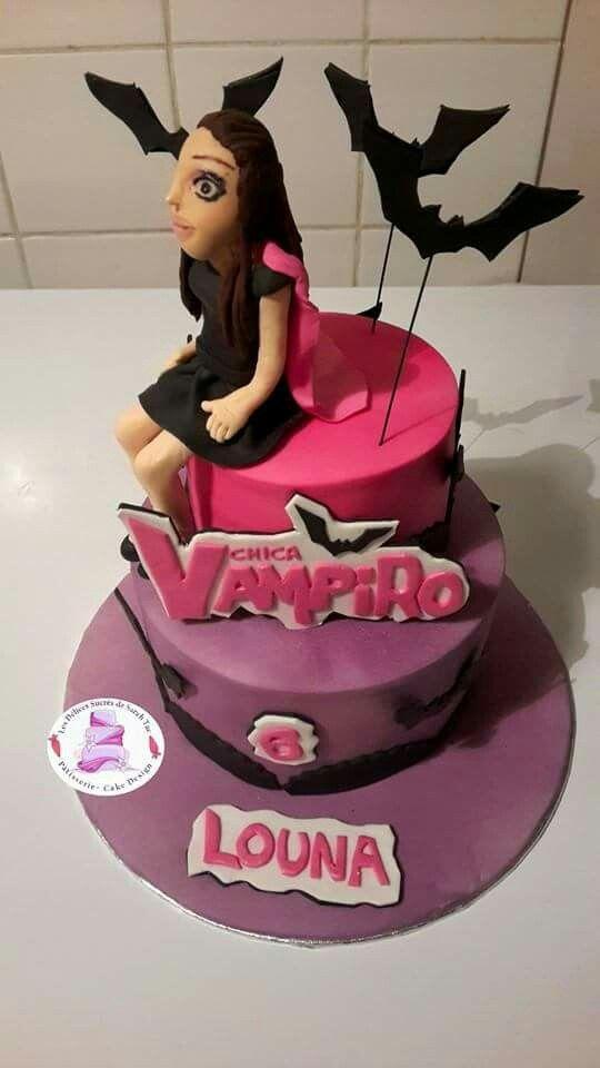 Cake Design Vampire Fille