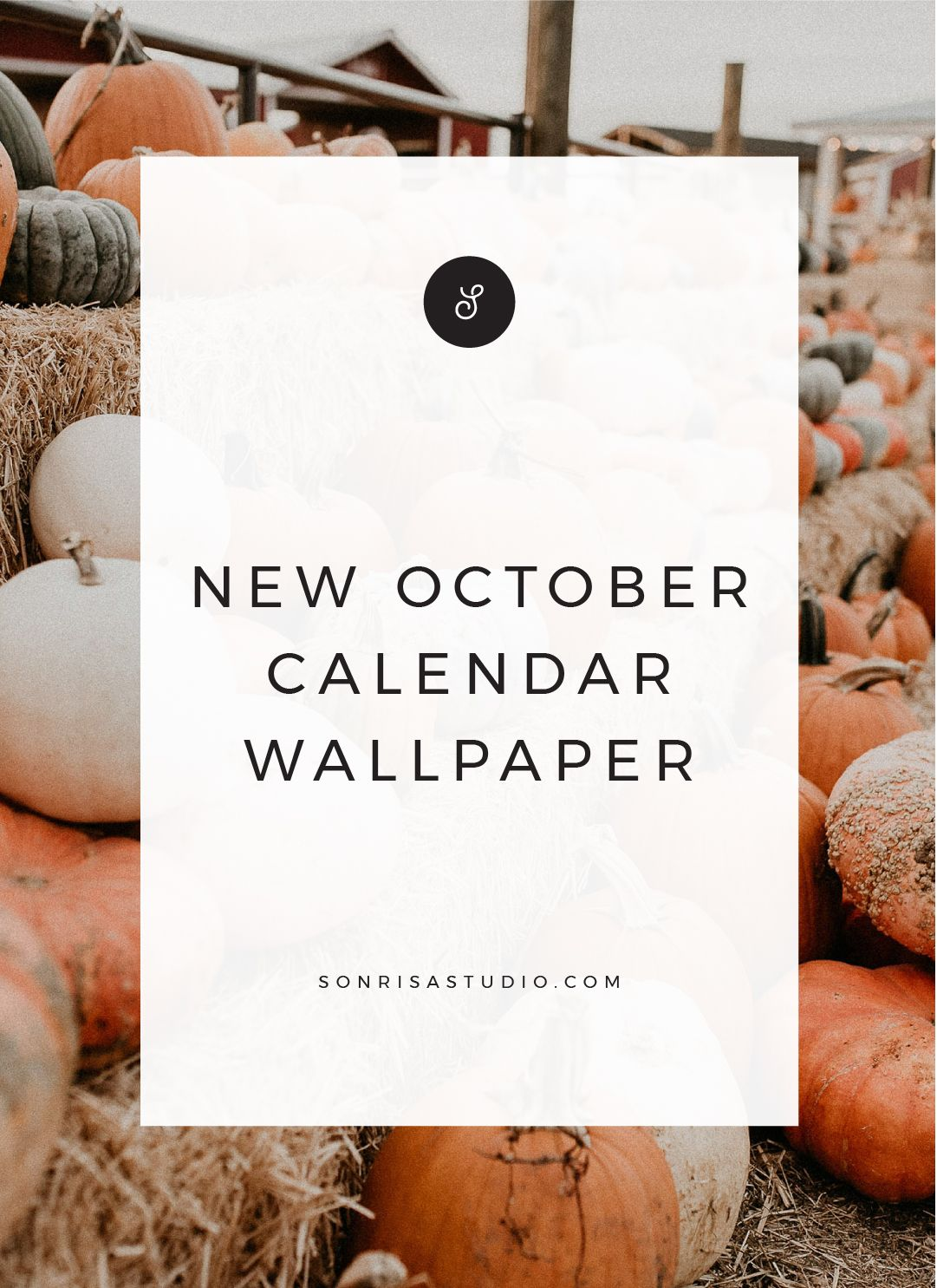 October Desktop and Mobile Wallpaper   sonrisastudio.com   October ...
