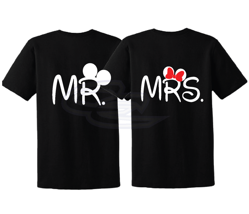 205d31947f just married mickey minnie mouse mr mrs disney matching   Weddings ...