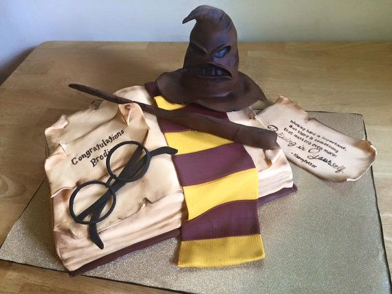 Harry Potter Cake Toppers by Mzbeescakes on Etsy
