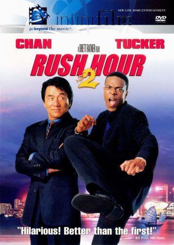 Rush Hour 2 Dvd 2001 Chris Tucker Jackie Chan Dvd