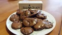Chocolatey Tea Treat Alert: Flourless Chocolate Cookies #cuppatea Our TeaDrops Ambassador, Sara recently shared a chocolatey recipe that was a hit at her Passover Seder dinner last week. The simplicity of the recipe make them the perfect any-time treat that was just too good not to share. What a great complement to a nice cuppa tea :) Thank you, Sara for sharing the (chocolate) love. In Sara's words: These cookies are the perfect option for a tea & cookies afternoon treat. They're light, chocola #cuppatea
