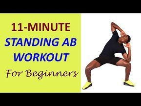 11minute athome standing ab workout for beginners