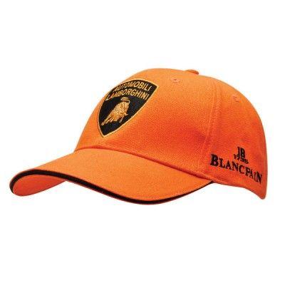 Official Lamborghini Merchandise Adult 6 panel construction cap available  Orange. This is a high quality f36e76c25e3