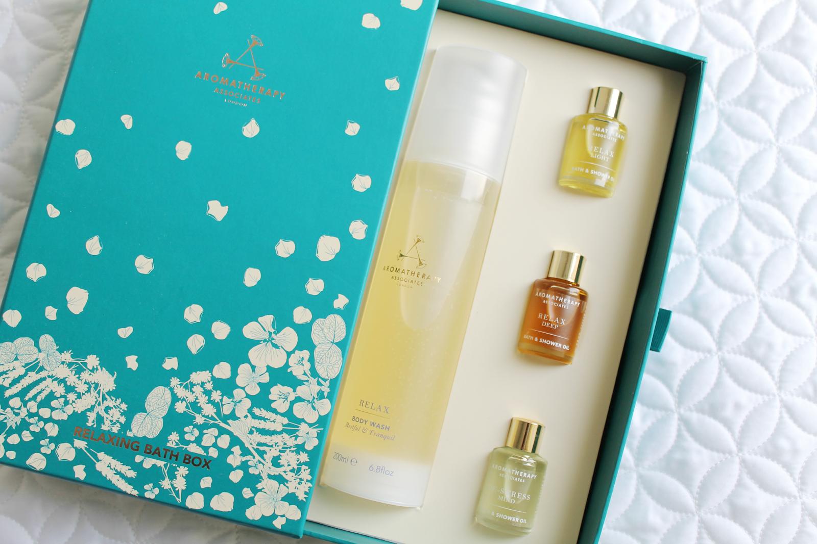 sweet electric.: Aromatherapy Associates Relaxing Bath Box Review &...