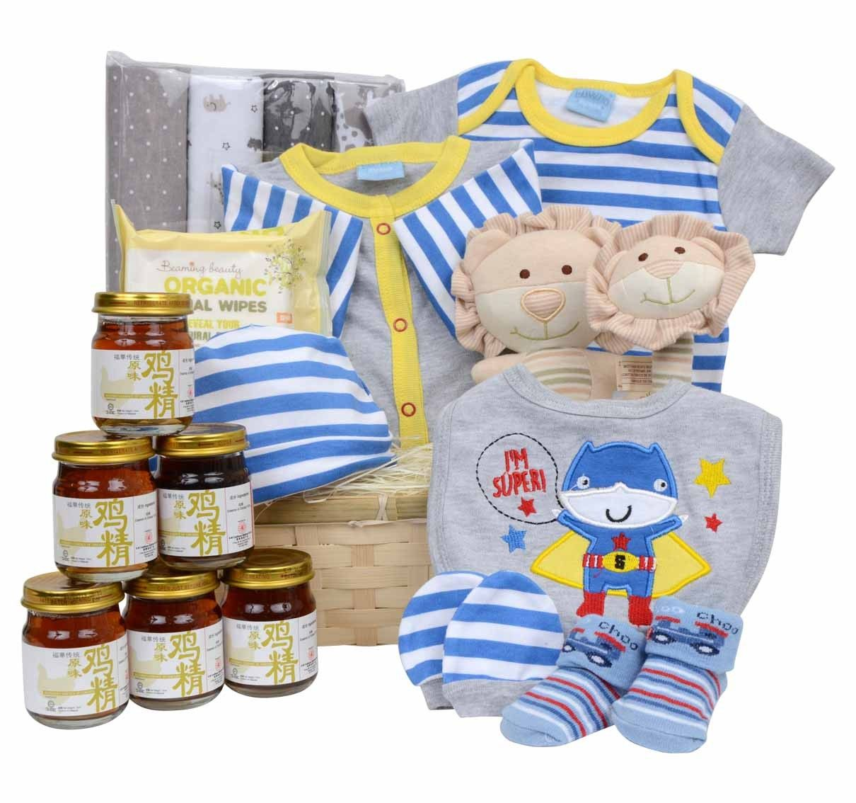 Bravo Set for Baby Boy (With images) Baby hamper, Baby