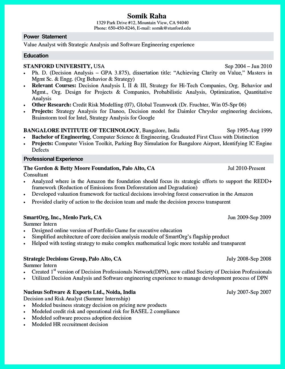 What You Will Include In The Computer Science Resume Depends On The Training As Well As The Previous Experi Engineering Resume Internship Resume Student Resume