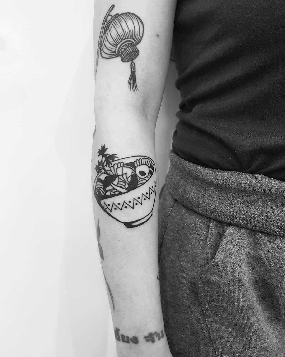 Mango sticky rice tattoo | Tattoos