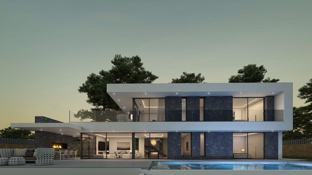 Campana Homes Vado Architecture Design House Enric Ii Moraira
