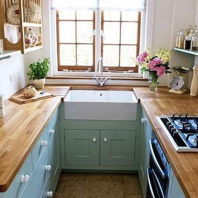 1000 images about cuisine on pinterest - Plan Petite Cuisine En U