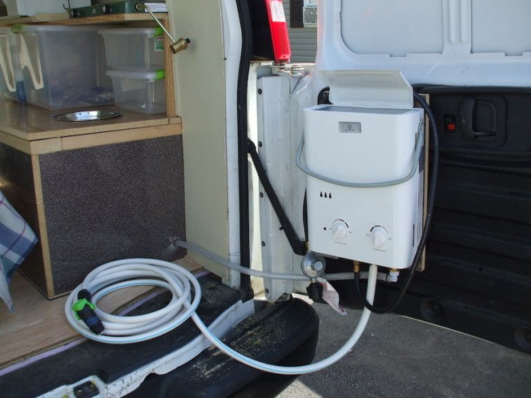 Here S How To Install A Shower In Your Van Camper Van