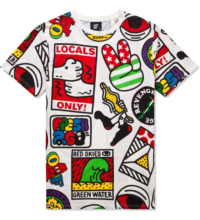 Lazy Oaf is a London-based fashion label designing bright and bold clothing and accessories that is cartoon-focused, and always with an element of weirdness. Th...
