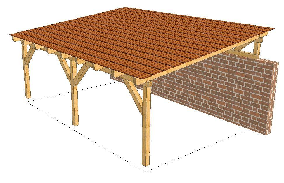 Carport mit pultdach.jpg 972×628 projekt: terrasse pinterest