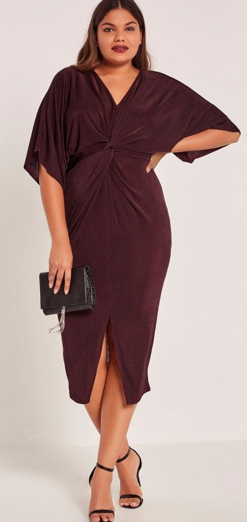 27 Plus Size Party Dresses with Sleeves Plus Size Fashion for