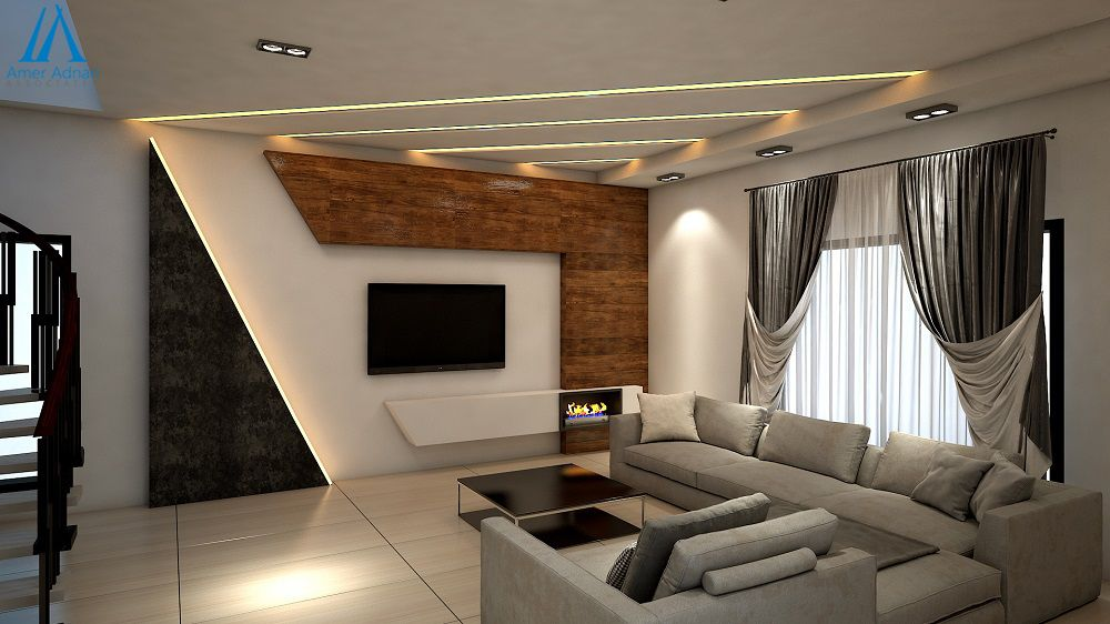 Modern Livingroom 3d Design Option For Your Home By Team Aaa