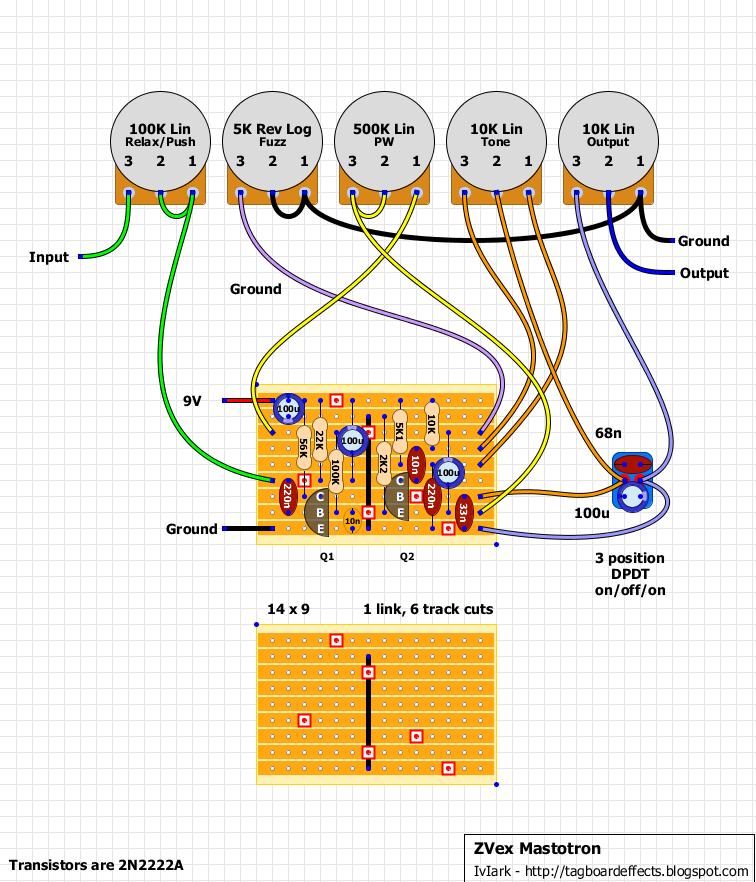 Electrical Wiring Zvex Mastotron Distortion Plus Wiring Diagram Off Board 98 D Distortion Plus Wiring Diagr Electronics Basics Diy Guitar Amp Circuit Diagram